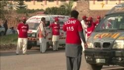У Пакістане паведамілі аб 29 загінулых у выніку нападу ісламістаў ВІДЭА