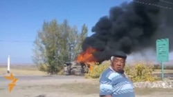 Protesters Temporarily Block Road In Kyrgyz Mine Dispute