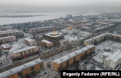 В центре Кызыла