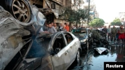 Архивска фотографија, Хомс, април 2014.