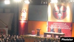 Armenia -- The ruling Republican Party holds a conference in Yerevan.