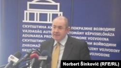 Ištvan Pastor, predsjednik parlamneta Vojvodine