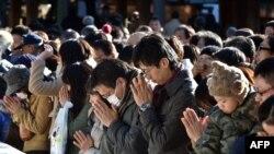 Rugăciunea de la Meiji shrine din Tokyo