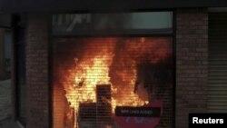 Последствия беспорядков в Манчестере