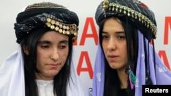 Надіа Мурад Басее (П) і Ламія Аджи Башар