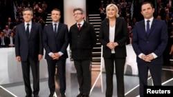 Predsednički kandidati i kandidatkinja na izborima u Francuskoj