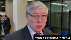 Историк Берик Абдыгалиев. Астана, 9 декабря 2015 года.