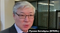 Исследователь темы движения «Алаш» историк Берик Абдыгалиев. Астана, 9 декабря 2015 года.