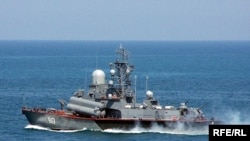 Малий ракетний корабель Чорноморського флоту Росії «Міраж»