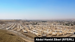 Лагерь сирийских беженцев в Ираке.