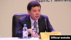 Марат Бекетаев, әділет министрі.