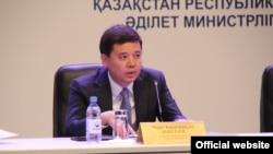 Қазақстанның әділет министрі Марат Бекетаев.