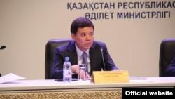 Министр юстиции Казахстана Марат Бекетаев.