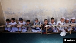 یک مدرسه دینی در کابل