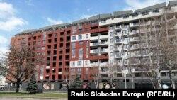 Зградата каде деловен простор има Коневски кај Мајчин дом