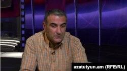 Հայկ Գևորգյանը հարցազրույց է տալիս «Ազատությանը», արխիվ