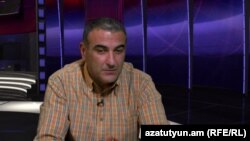 Հայկ Գևորգյանը «Ազատություն TV»-ի տաղավարում, արխիվ