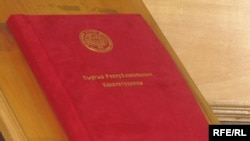 New draft constitution of Kyrgyzstan to be finalized and presented to the public on May 20.