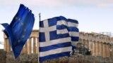 Flamuri i BE-së dhe i Greqisë. Fotografi nga arkivi.