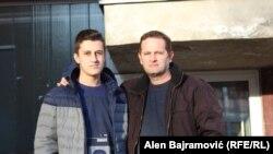 Slavko sa ocem Nenadom Mrševićem