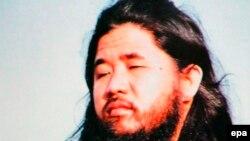 """Основатель секты """"Аум Синрикё"""" Сёко Асахара. Архивное фото"""