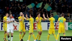 Игроки футбольного клуба «Астана». Иллюстративное фото.