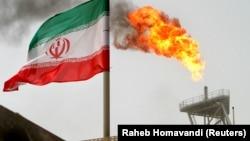 Flamuri iranian, ilustrim.