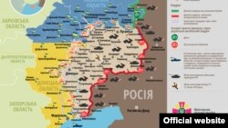 Ситуація в зоні бойових дій на Донбасі, 14 червня 2015 року