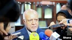 FILE - Bijan Zanganeh, Iran's Petroleum Minister.