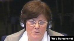 Eva Tabo svjedoči u Hagu