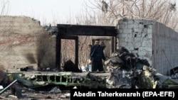 İranda Ukraina uçağınıñ tüken yeri