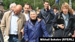 «Писательская прогулка» по Москве 13 мая 2012 года