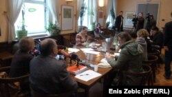 Zagreb: Sindikat novinara o smanjenju PDV-a za dnevne novine, 25. ožujak 2013.