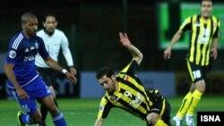 سپاهان در ورزشگاه فولادشهر میزبان النصر امارات بود