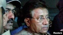 Пәкістанның бұрынғы президенті Первез Мушарраф. Исламабад, 20 сәуір 2013 жыл.