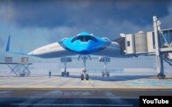 طرح ارائهشده از سوی هواپیمایی کیالام و شرکت تییو برای ساخت هواپیمای وی شکل
