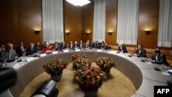 Իրանի միջուկային ծրագրի հարցով բանակցություններ Ժնևում, 20-ը նոյեմբերի, 2013թ․