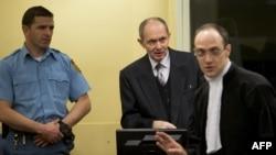 Zdravko Tolimir u sudnici na dan izricanje presude