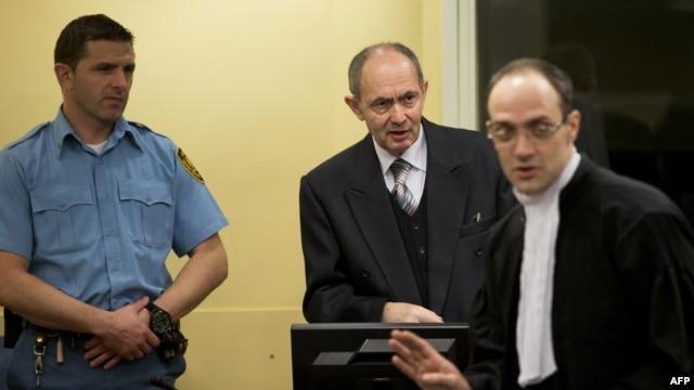 Zdravko Tolimir u haškoj sudnici, 12. decembar 2012.