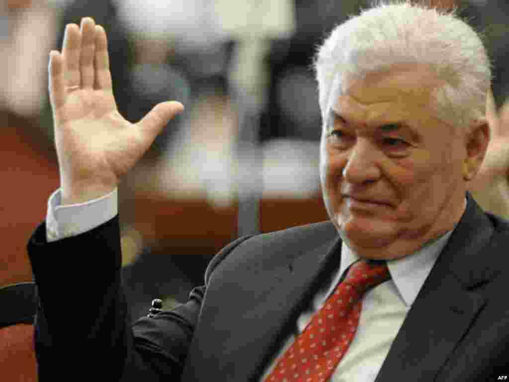 Президент Молдавии Владимир Воронин избран спикером парламента Молдавии
