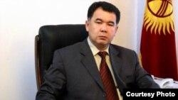 Туйгуналы Абдраимов, БШК төрагасы. 2006-жылдын апрели.