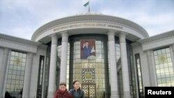 Türkmenistanyň Döwlet Uniwersiteti.