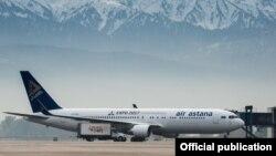 Air Astana компаниясының ұшағы (Көрнекі сурет).