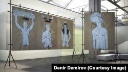 На выставке Демира Демирова в Париже