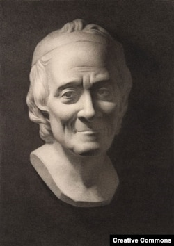 Скульптурный портрет Вольтера