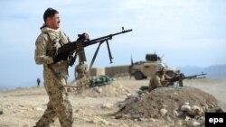افغان سرتیري د جنګ پرمهال