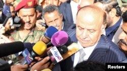 «عبد ربه منصور هادی»، رئیسجمهور یمن.