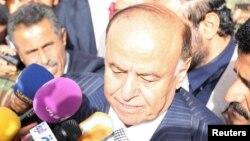 Йеменнің жаңа президенті Абд-Раббо Мансур Хади. Сана, 21 ақпан 2012 жыл.