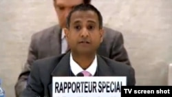 UN Special Rapporteur on the Human Rights Situation in Iran Ahmed Shaheed