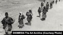 Армянские беженцы в сирийской пустыне